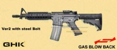 GHK M4 CQB RAS Gas Blow Back Rifle 2017 Ver.2 (Cybergun Licensed Colt Marking/10.5 inch)